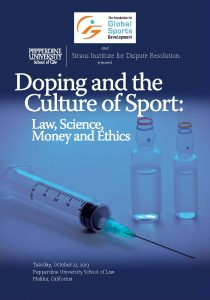 Doping and the Culture of Sport PDF Program