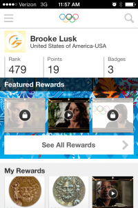 By following more athletes, the Hub users can access exclusive content on the new Olympic Athletes Hub mobile app.