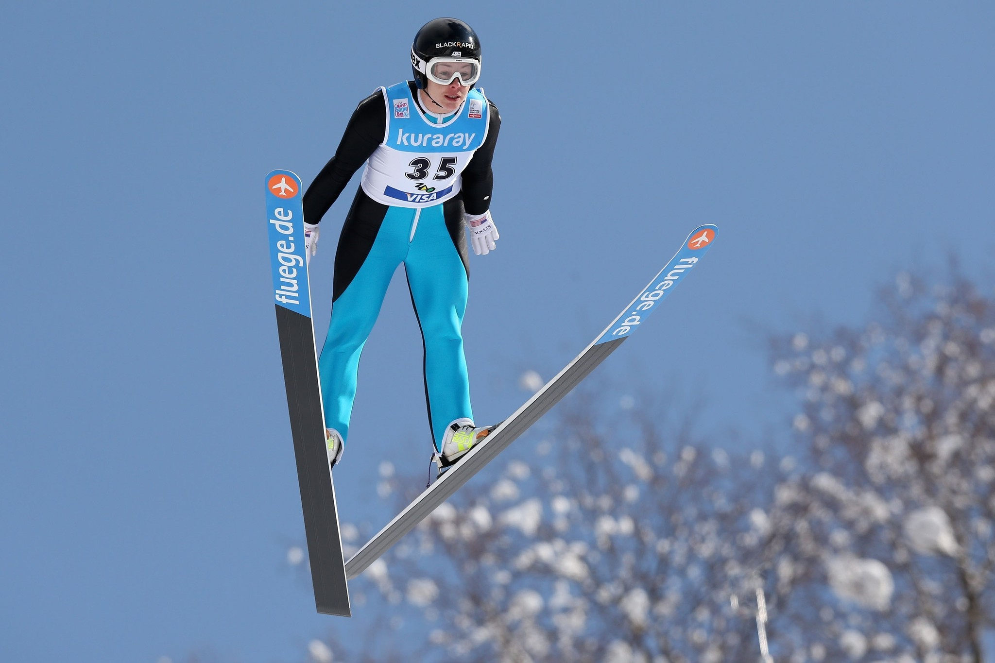 Brief Description of Ski Jumping