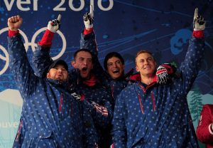Team Night Train at the 2010 Vancouver Winter Olympics
