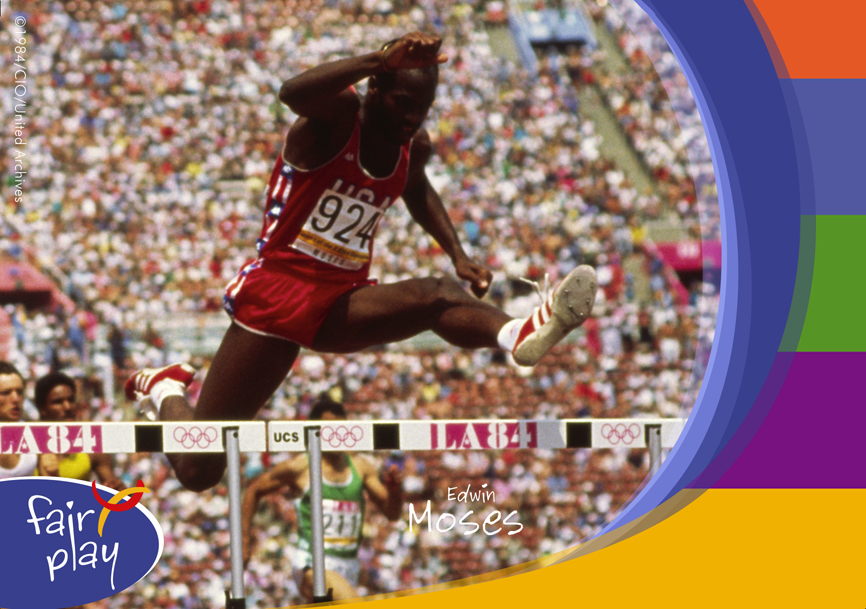 Post Card_Edwin Moses