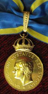 The Illis Quorum medal. Photo Credit: Richard Nyström.