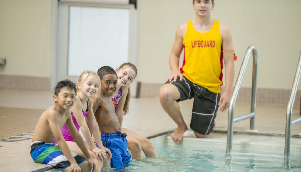 Kids Before Swim Class