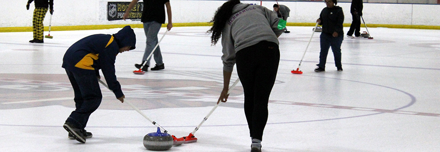 "Begins supporting World Curling Federation's ""Olympic Celebration Tour"""