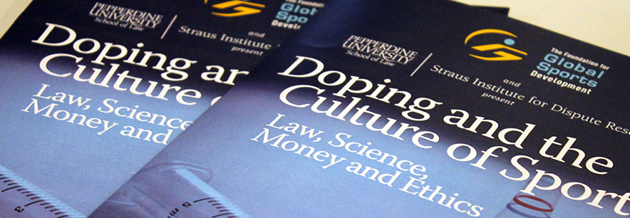 """Doping and the Culture of Sport"" symposium at Pepperdine University"