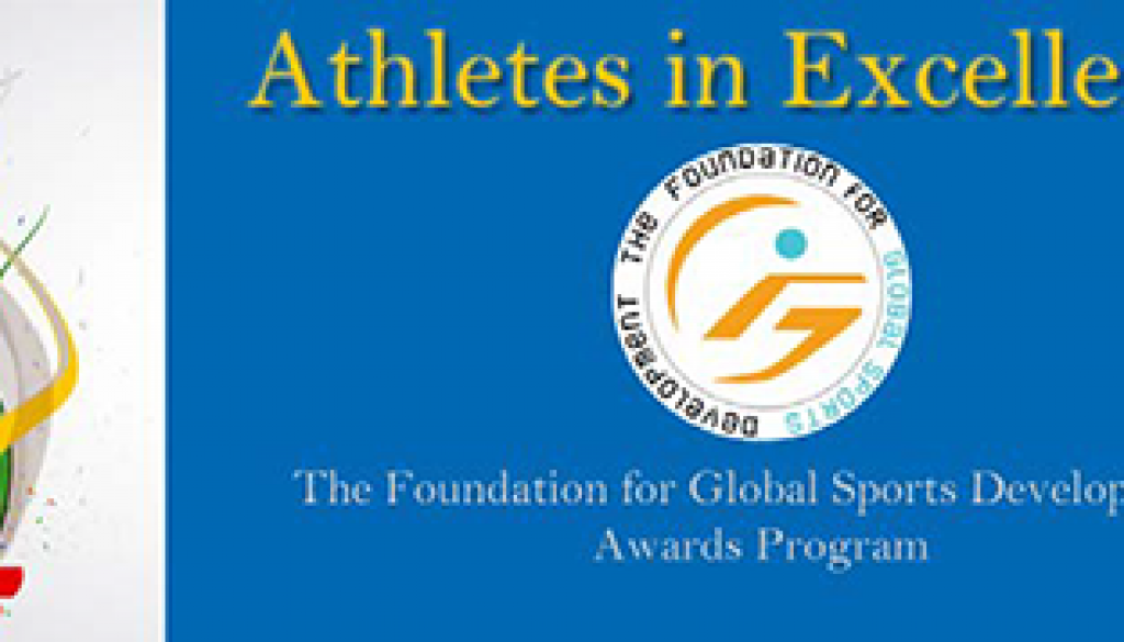 The Athletes in Excellence Award honors athletes who have used their achievements in sport as a catalyst to inspire positive change.