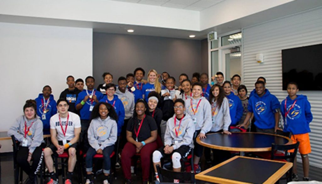 This year we transitioned our Playmakers Program to be an annual program hosted by the United States Olympic Committee at their training center in Colorado Springs.