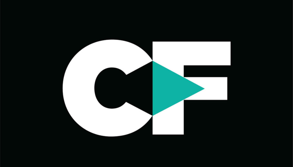 Courage First Logo_White and Teal_CMYK