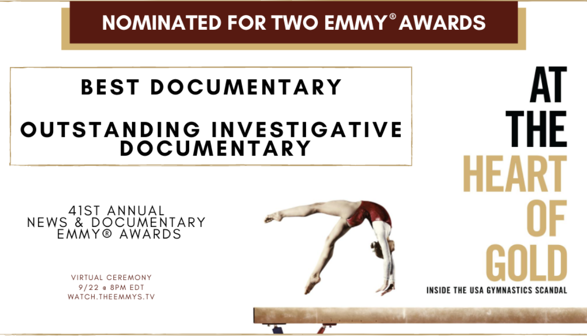 At the Heart of Gold Emmy Nomination