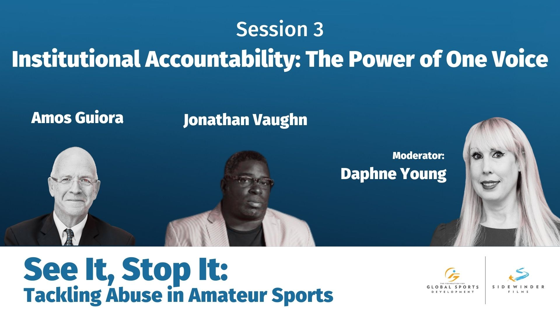 Institutional Accountability: The Power of One Voice